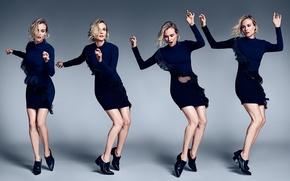 Picture dress, Diane Kruger, movement, MyTheresa