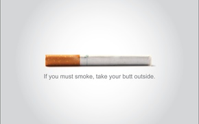 Picture white, text, background, cigarette, MACRO, filter