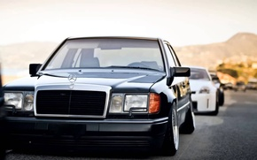 Picture mercedes-benz, stance, w124