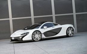 Picture McLaren, White, Carbon, Drives, Wheelsandmore