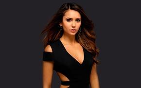 Picture Nina Dobrev, The Vampire Diaries, The Vampire Diaries, promo photo shoot, July 2014, the sixth …