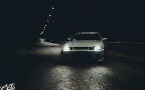 Picture road, machine, auto, night, lights, photographer, optics, Nissan, auto, photography, photographer, Skyline, Vladimir Smith, Vladimir …