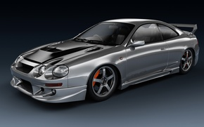 Picture graphics, art, Toyota, Coupe, Celica, dangeruss, The sixth generation, GT-Four