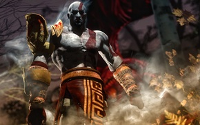 Picture rendering, God, male, god of war, kratos, sony