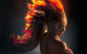 Picture girl, model, Amanda Iceey, Rise of The Phoenix