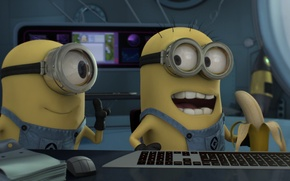 Picture background, movies, minions, despicable me 2, minions