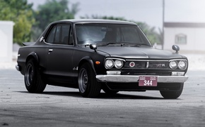 Picture Nissan, Skyline, and, Hakosuka, G-TR, Mohammad, Kenmeri, Yassi