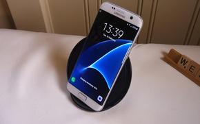 Picture edge, galaxy, samsung, Samsung, samsung galaxy s7, the water's edge.