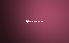 Picture love, background, heart, Desk, pink