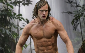 Picture cinema, forest, long hair, trees, jungle, leaves, man, movie, blonde, Africa, hero, british, film, konoha, …
