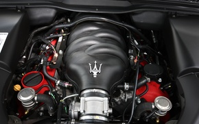 Picture Maserati, engines, Maserati