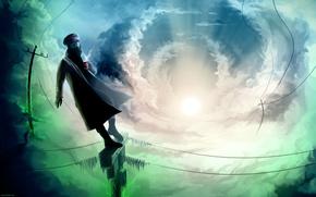 Picture The sky, Captain, Romantically Apocalyptic, Romance Of The Apocalypse, `alexiuss