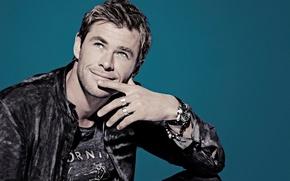 Picture Chris Hemsworth, photographer, Chris Hemsworth, photoshoot, Mary Ellen Matthews, actor, Saturday Night Live