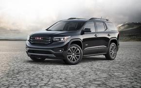 Picture black, jeep, SUV, Black, GMC, Acadia, Giemsa