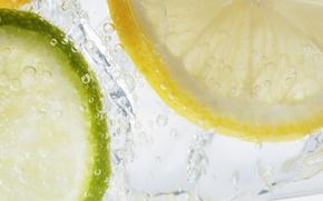 Wallpaper bubbles, lemon