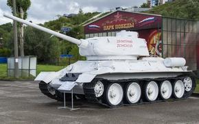 Picture tank, Soviet, average, T-34-85