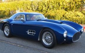 Picture road, blue, tuning, Ferrari, car, sports, Gran Turismo, class, exclusive, 250 GTO