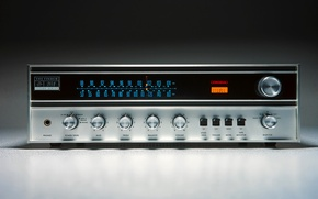 Wallpaper Receiver, The Fisher 201 Futura, Stereo