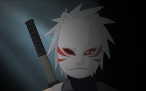 Picture Anime, naruto, art, Sharingan, kakashi, Ambu