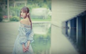 Wallpaper girl, style, Asian