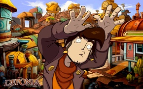 Picture Fear, Deponia, Rufus, Deponia, Fear