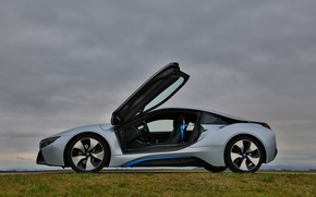 Picture BMW, sports car, electric, BMW i8