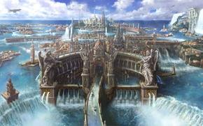 Picture Final Fantasy, Art, Game, FF15