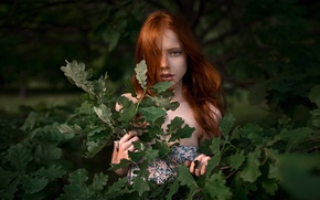 Wallpaper sprig, George Chernyadev, red-haired beauty, Catherine Jasnogorodska, Eve was redhead-2