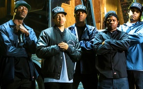 Picture Ice Cube, N.W.A, Dr. Dre, Straight Outta Compton, Straight out of Compton, Voice of the …
