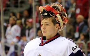Picture sport, male, sport, guy, Russia, hockey, goalkeeper, man, team, hockey, goalkeeper, Igor Shesterkin, youth, Igor …
