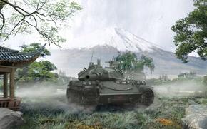 Picture Japan, tank, Japan, tanks, WoT, World of tanks, tank, World of Tanks, tanks, Wargaming.Net, BigWorld, …