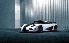Picture Koenigsegg, white, One