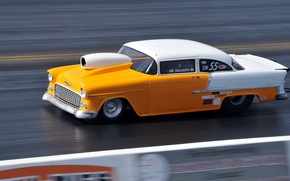 Picture style, race, speed, track, muscle car, drag racing