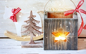 Picture decoration, toys, New Year, Christmas, Christmas, snow, Xmas, decoration, Merry