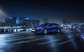 Picture city, toyota, wagon, avensis