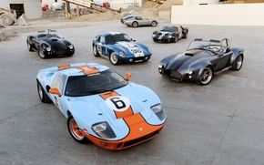 Wallpaper Ford, Shelby, Ford, Shelby, Coupe, Cobra, Daytona, Superformance, 2014