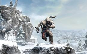 Picture killer, assassin, Assassin's Creed III, Radunhageydu, Connor, Assassin's Creed 3