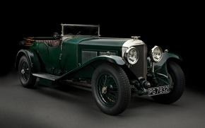Picture black background, Bentley, Tourer, 1927 Bentley