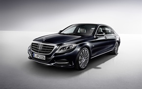 Picture Mercedes, Benz, 2015, S600