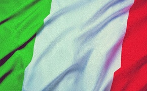 Picture flag, Italy, Italy
