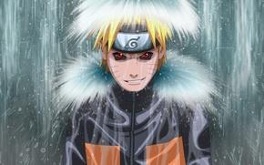 Picture waterfall, naruto, anime, Uzumaki Naruto, evil essence