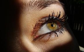 Picture look, eyes, eyelashes