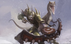 Wallpaper WoW, Bow, World of Warcraft, Pet, Hunter, Troll, Ammunition, Rage