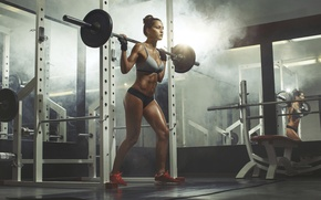 Picture workout, fitness, gym, sportswear, exercises for legs