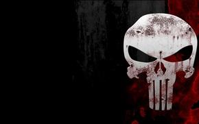 Wallpaper background, blood, skull, sake, the punisher, the Punisher
