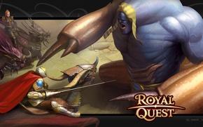 Wallpaper war, Katauri Interactive, monster, Royal Quest