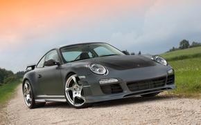 Picture 911, Porsche, wheels, MANSORY, hrome