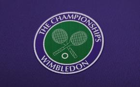 Picture logo, tennis, wimbledon