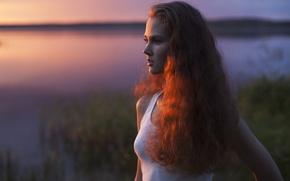 Picture girl, portrait, Anastasiya Khotenovskaya