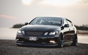 Picture tuning, Lexus, the front, stance, Lexus GS 350